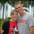 Ohio State alumni Jen and Steve Butwill