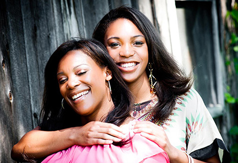 Khara and Carmen Walker