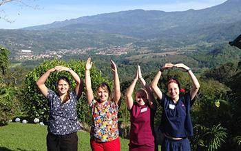Serving in Costa Rica